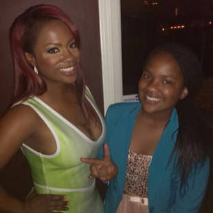 Kandi Burruss Comments on NeNe Leakes and Kenya Moore's Ear-Pulling Incident