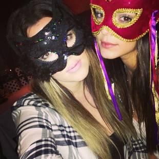 Kendall Jenner Celebrates Her 18th Birthday With Khloe Kardashian