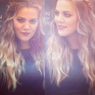 Khloe Kardashian Debuts Blonder Locks in Amsterdam (PHOTO)