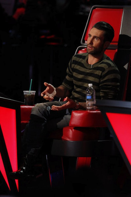 Adam Levine Threatens to Kill Blake Shelton on The Voice! (VIDEO)