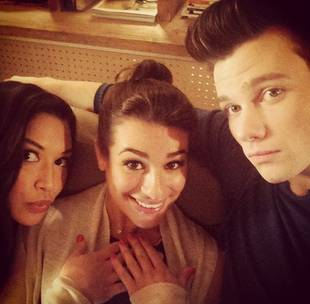 Lea Michele Spent Halloween Doing WHAT? (PHOTO)