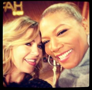 Grey's Anatomy's Ellen Pompeo Rap-Battles Queen Latifah! (VIDEO)
