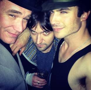Vampire Diaries Star Ian Somerhalder Poses With His Surprising Bestie! (PHOTO)