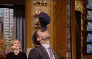 Adam Levine Reveals Adorable Hidden Talent on LIVE With Kelly and Michael (VIDEO)