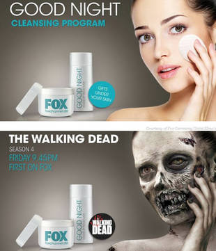 The Walking Dead Teased With Horrific Subway Ad in Germany (PHOTO)