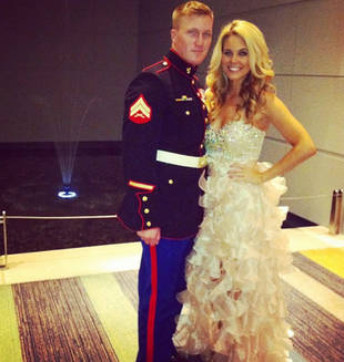 Big Brother 15's Aaryn Gries Shares Marine Ball Photo With New Boyfriend