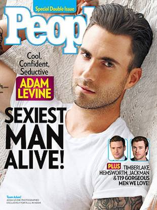 "Adam Levine on Being 2013's Sexiest Man Alive: ""I'm Going to Be the Butt of Every Joke"""