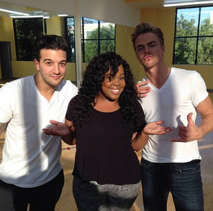 Dancing With the Stars Season 17, Week 9: Amber Riley, Derek Hough, and Mark Ballas's Trio Salsa