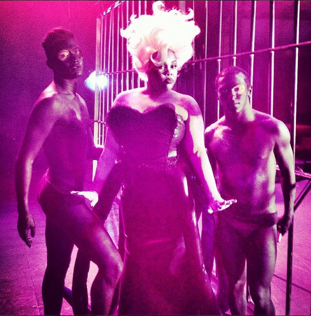 Amber Riley: Disney Villain! Glee Star as Ursula in Spell Block Tango (VIDEO)