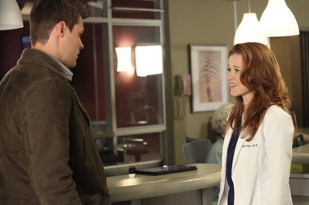 Grey's Anatomy's Sarah Drew on April and Matthew's Premarital Counseling — Exclusive