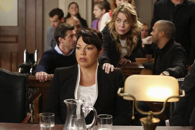 Grey's Anatomy Season 10 Spoilers: Sara Ramirez Details Episode 9's Lawsuit and Calzona Flashbacks