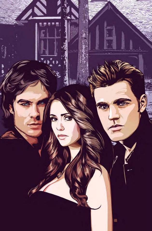 "The Vampire Diaries Digital Comic Preview: Sneak Peek of ""Vervain, Part 3″ — Exclusive"