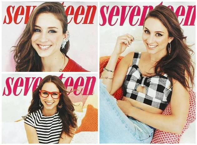 Pretty Little Liars Star Troian Bellisario Covers Seventeen Magazine's February Issue! (PHOTO)