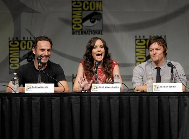 Sarah Wayne Callies Reunites With On-Screen Son, Chandler Riggs!