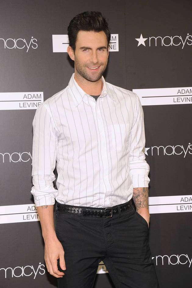 People's Sexiest Man Alive Is Adam Levine — Here's How We Knew! (PHOTOS)