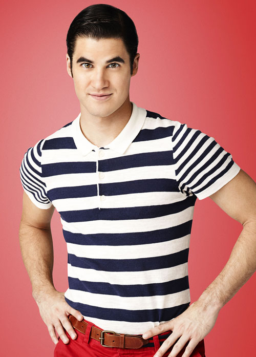 See Glee's Darren Criss as a Blond — and With Facial Hair!