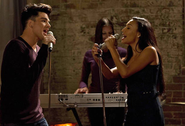 Glee Spoiler Video: First Look at Adam Lambert in Season 5, Episode 4