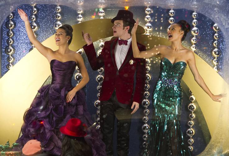 """First Listen: Glee's """"The Chipmunk Song"""" — With Rachel, Santana and Kurt!"""