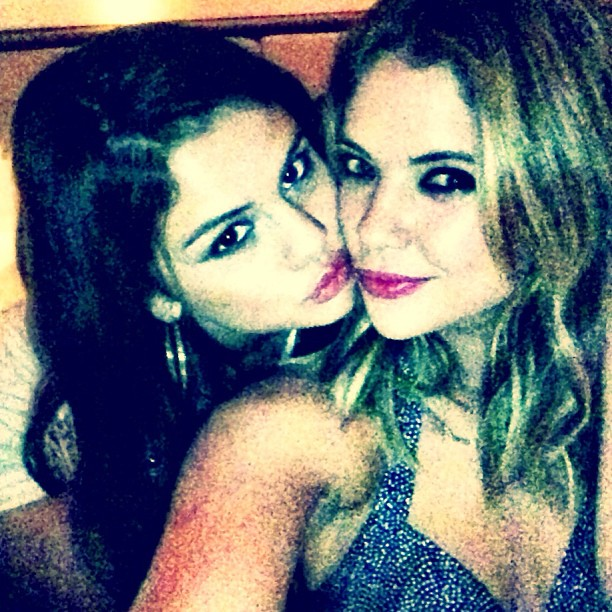 Ashley Benson Supports Bestie Selena Gomez at Staples Center Concert (PHOTO)