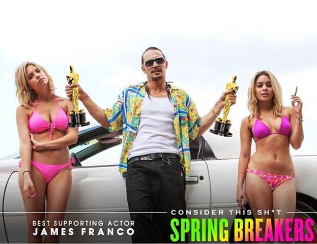 Ashley Benson and Spring Breakers Cast Submitted For Oscar Consideration!