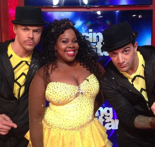 Amber Riley Makes the DWTS Semifinals! Glee Stars React