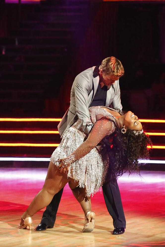 Dancing With the Stars Season 17, Week 10: Amber Riley and Derek Hough's Viennese Waltz
