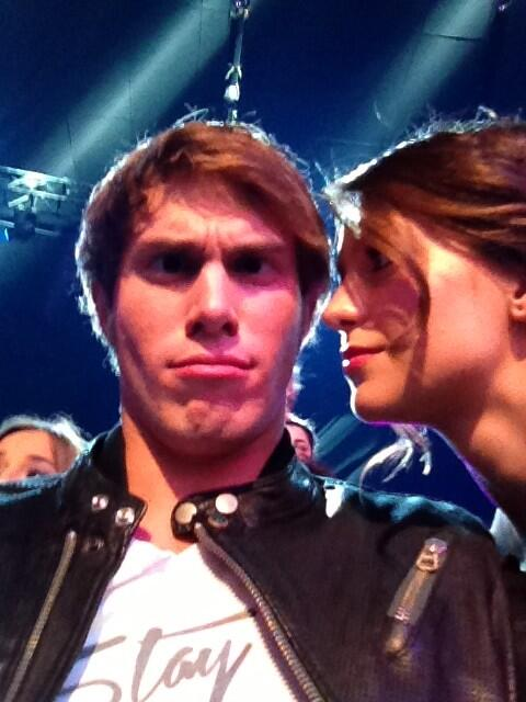 Did Glee's Blake Jenner Hint He and Melissa Benoist Really Are Engaged?!