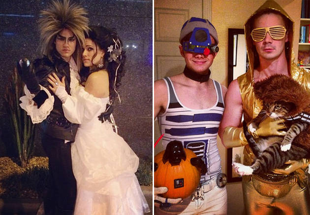 Darren Criss vs. Chris Colfer: Who Had the Best Couple's Costume?