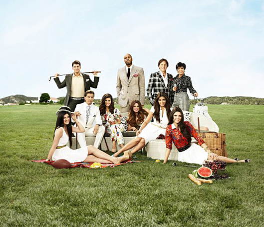 The Kardashians Film Christmas Special — Without Lamar Odom or Kanye West