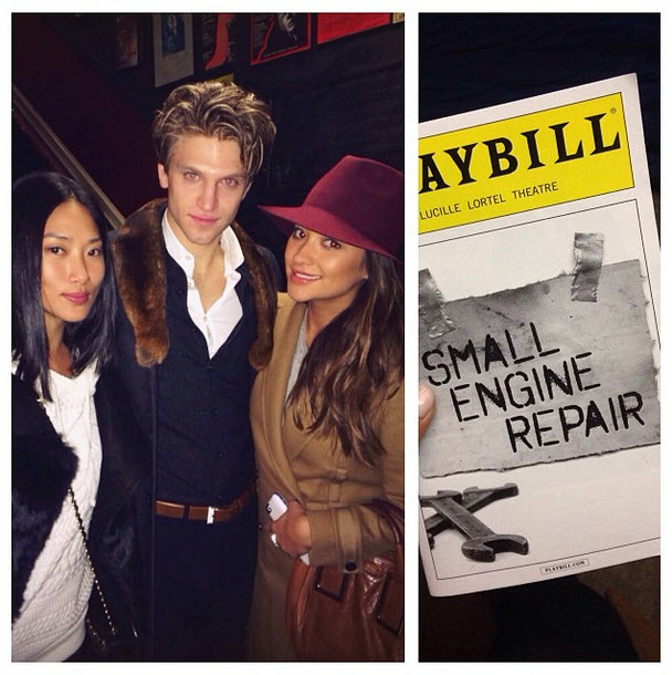 Shay Mitchell Reunites With Keegan Allen in New York City — Adorable Alert! (PHOTO)