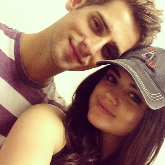 "Pretty Little Liars Star Lucy Hale ""Adores"" Baby Daddy's Jean-Luc Bilodeau (PHOTO)"