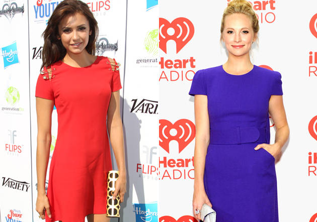 Nina Dobrev vs. Candice Accola: Which Vampire Diaries Starlet Rocked the Jewel Tone Trend Better?