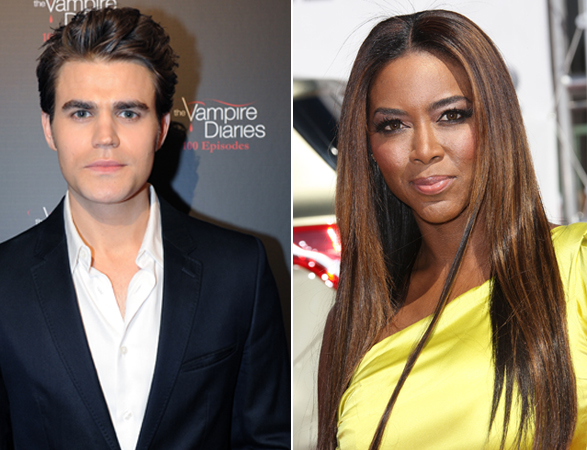 What Do Paul Wesley and Real Housewives of Atlanta's Kenya Moore Have in Common?