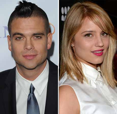 Creepy Mashup of Glee's Dianna Agron and Mark Salling — Her Hilarious Reaction!