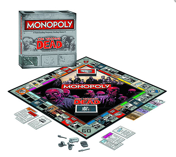 The Walking Dead Monopoly Game: See Inside!