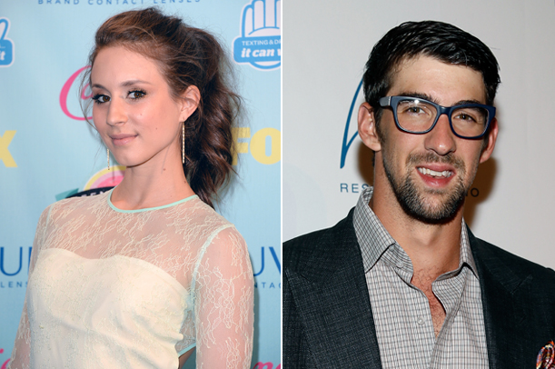 Pretty Little Liars Star Troian Bellisario Caught in Bed With Michael Phelps — But There's a Catch!