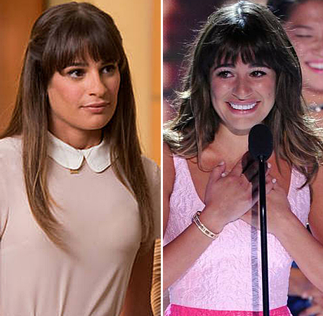 Lea Michele and Glee's Rachel: Handling Cory Montieth and Finn's Deaths The Same Way?