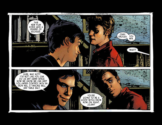 "The Vampire Diaries Digital Comic Preview: Sneak Peek of ""Vervain, Part 3″ — Exclusive"