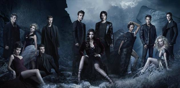 Vampire Diaries Social Web — Who Hooked Up? And Who's Related?