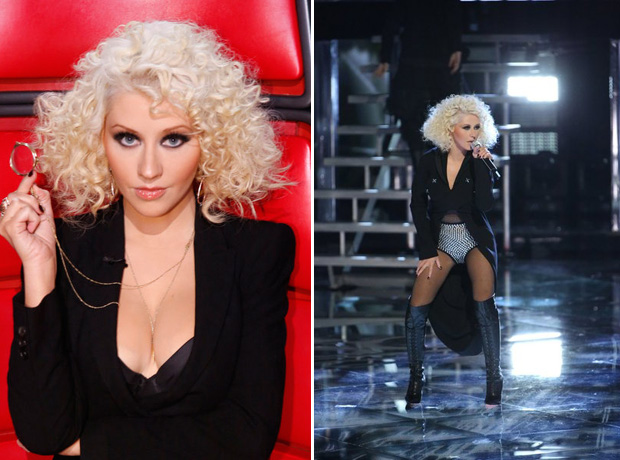 Christina Aguilera Goes Pantless in Cleavage-Baring Outfit — Hot or Not? (PHOTOS)