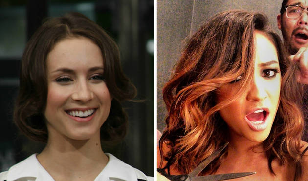 Pretty Little Liars Stars Shay Mitchell vs. Troian Bellisario: Who Rocks the Faux Bob Better? (PHOTO)