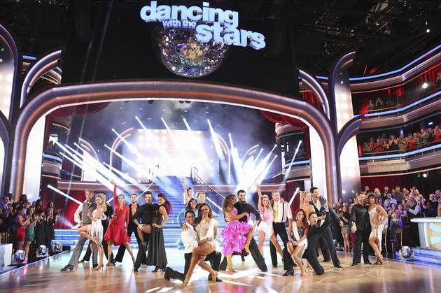 Which Dancing With the Stars Pro Had a Wardrobe Malfunction During His Week 9 Trio Dance? (VIDEO)