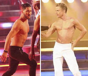 "Dancing With the Stars' Val Chmerkovskiy and Derek Hough Share ""Tragic"" Fashion Moment (PHOTO)"