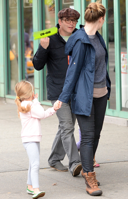 Matthew Broderick Flips the Bird…While His 4-Year-Old Daughter Watches!