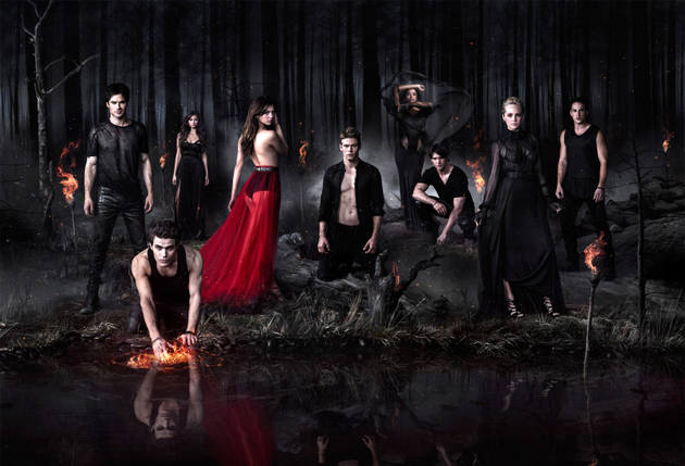 The Hot Guys of The Vampire Diaries Celebrate 100 Episodes (PHOTO)