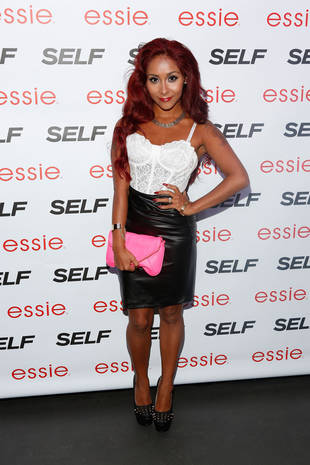 You'll Never Believe This Move Snooki Can Do at the Gym — She's Holding HOW Many Pounds?! (VIDEO)