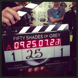 Fifty Shades of Grey Starts Filming — See Jamie Dornan and Dakota Johnson on Set!