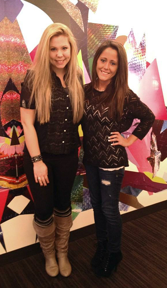 "Jenelle Evans Says She and Kailyn Lowry Are ""Really Close"""