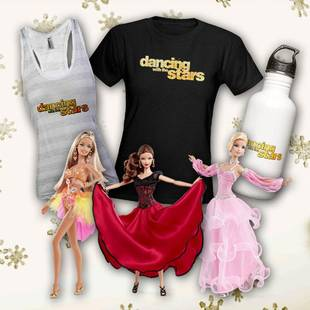 Dancing With the Stars Holiday Gifts: Samba Barbie, Mirror Ball Mug, and More