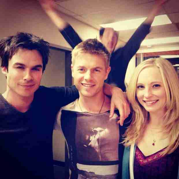 Rick Cosnett Shares Behind-the-Scenes Photo of Ian Somerhalder and Candice Accola — Who Photobombed?